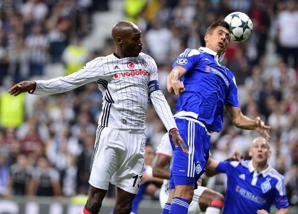 Beşiktaş Dinamo Kiev maçı