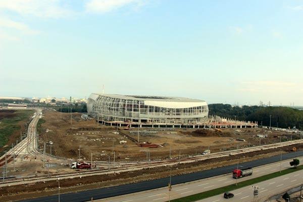 Samsunspor'un Yeni Stadının Çimleri İtalya'dan