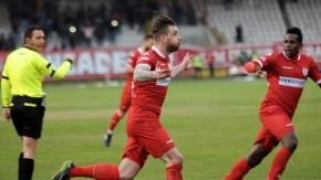 Samsunspor-Yeni Malatyaspor Maçından Kareler