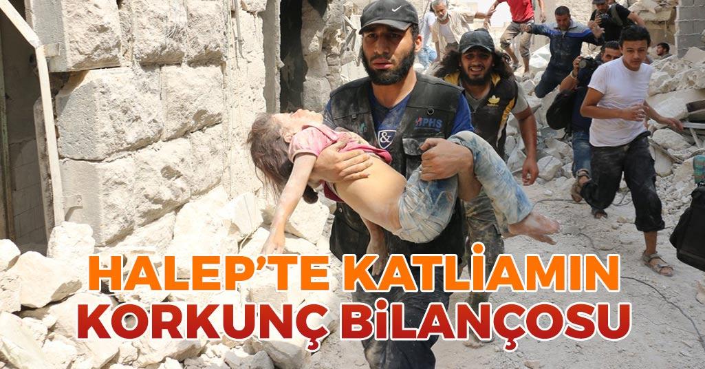 Halep'te Katliamın Korkunç Bilançosu