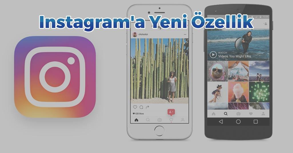 Instagram'a Yeni Müthiş Özellik