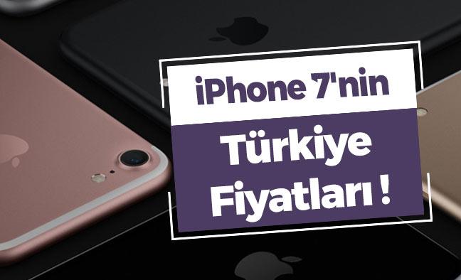 iPhone 7'nin Türkiye Fiyatları