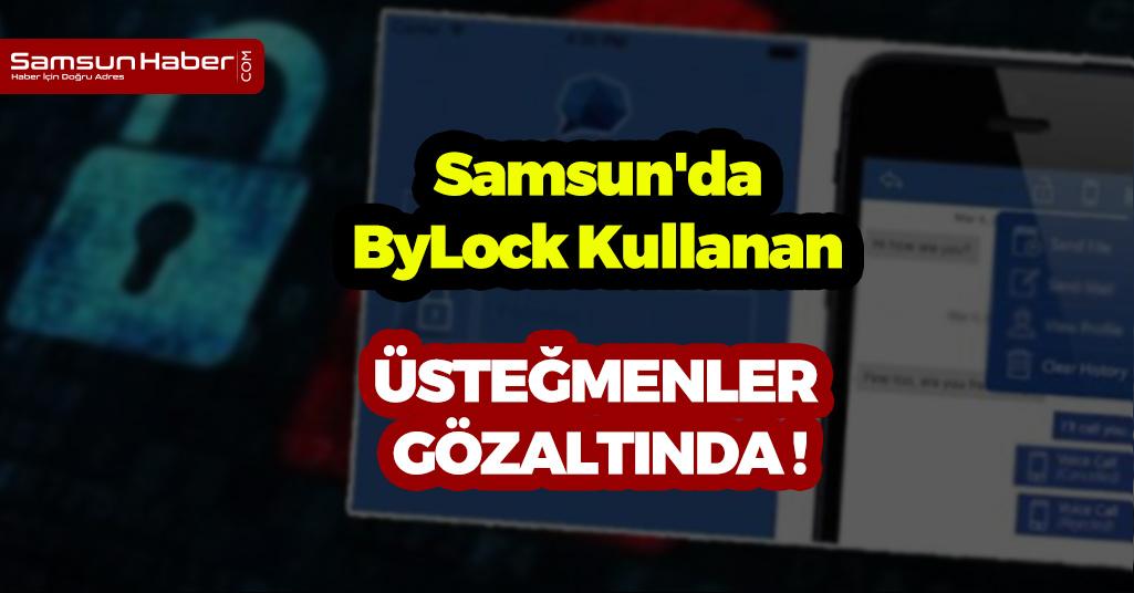 Samsun'da Üsteğmenler Gözaltına Alındı