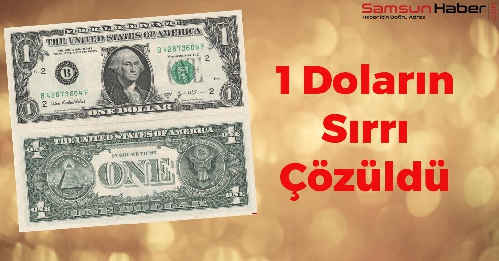 1 Doların Sırrı Bakın Neymiş