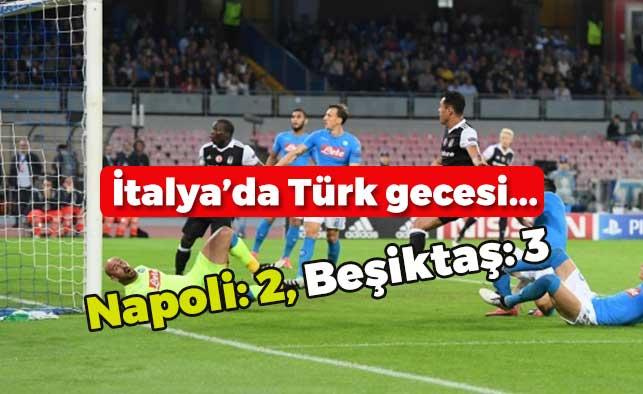 Beşiktaş İtalya'da Tarih Yazdı!