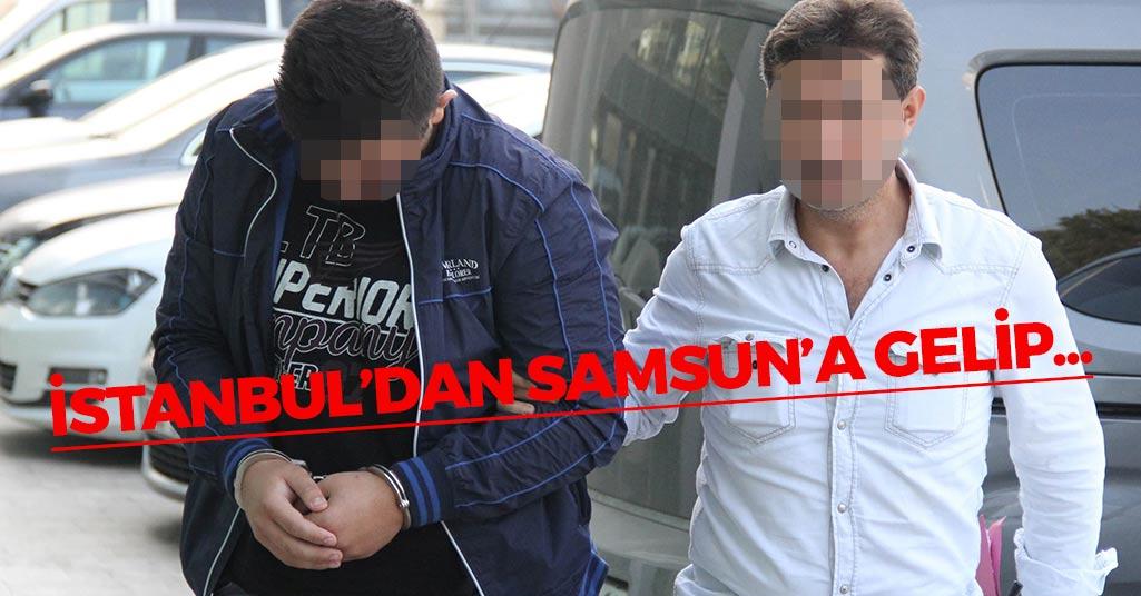 İstanbul'dan Samsun'a Gelip...