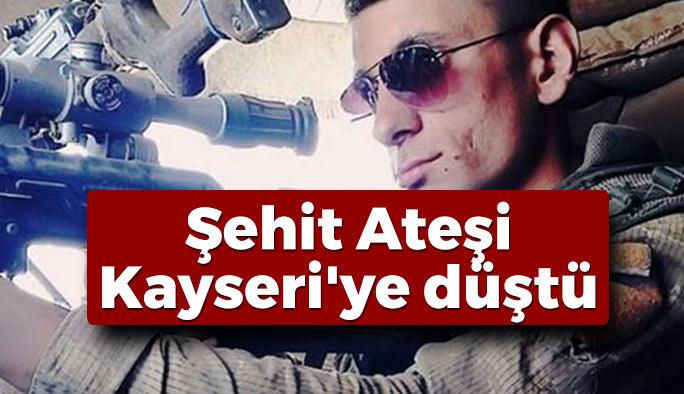 Kayseri'den Acı Haber: 1 Şehit