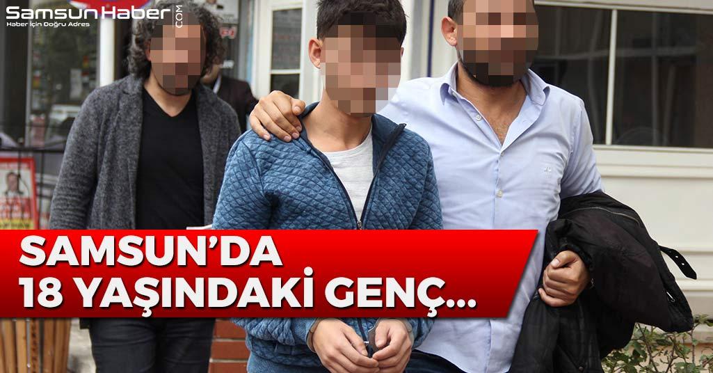 Samsun'da 18 Yaşındaki Genç...