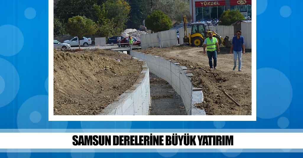 SASKİ'den Samsun'a 110 Milyon!