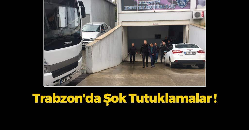 Trabzon'da Eski Komutan Ve 4 Asker Tutuklandı