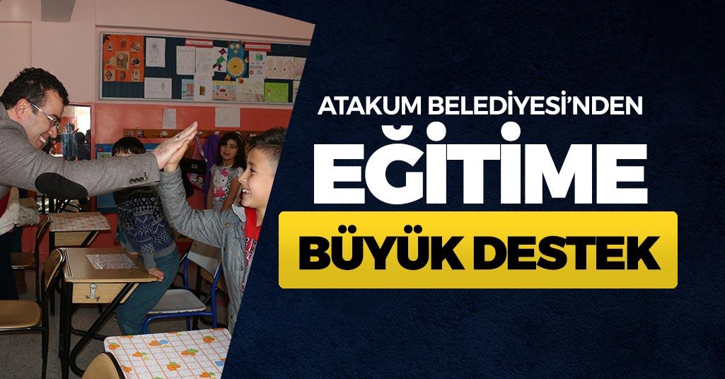 Atakum'da Eğitime Büyük Destek!