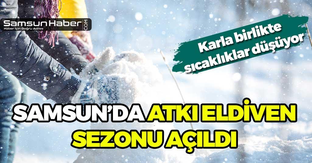 Samsun'a Kar Uyarısı! Sıcaklıklar Düşüyor