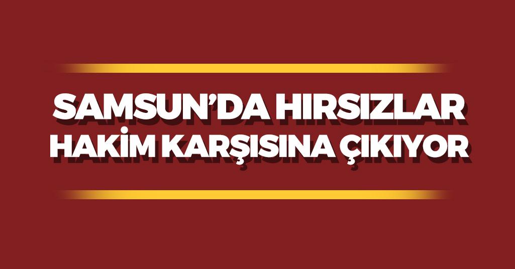 Samsun'da Motosiklet Hırsızları Hakim Karşısına Çıkıyor