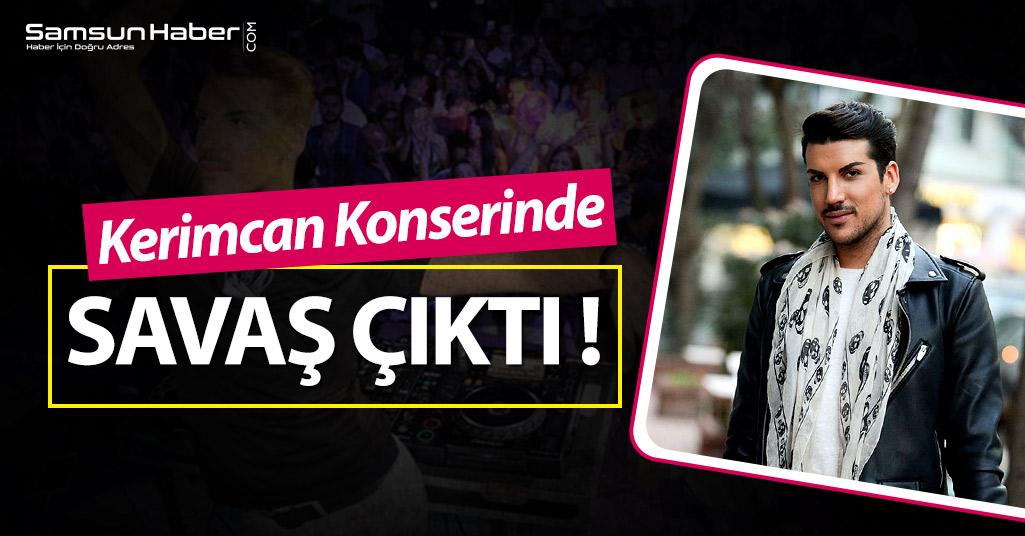 Kerimcan Durmaz'a Samsun'da Saldırı