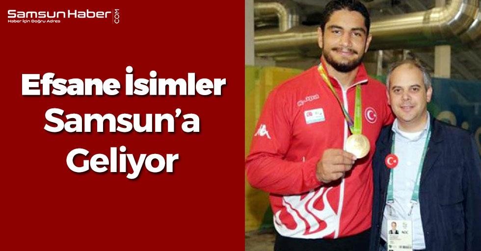 Şampiyonlar Samsun'a Gelecek