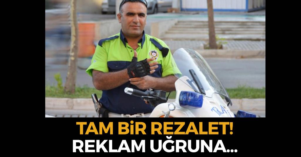 Şehit Polis Memuru Üzerinden Çirkin Reklam