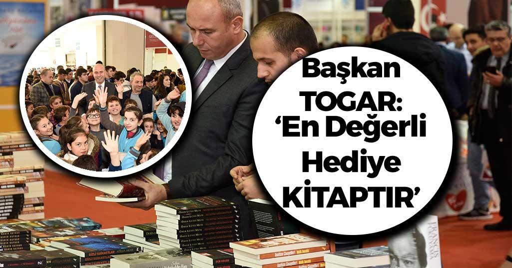 Başkan Togar: 'En değerli hediye kitaptır'