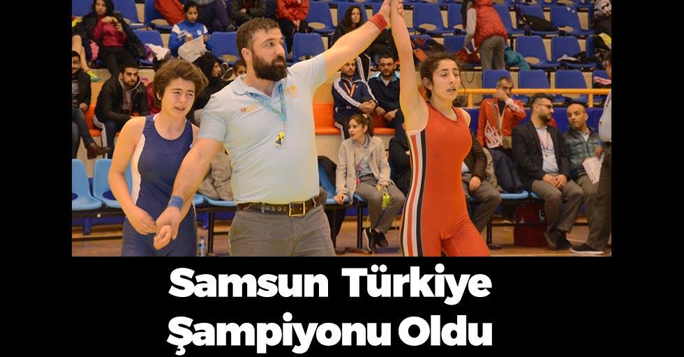 Minderde Samsun Türkiye Şampiyonu