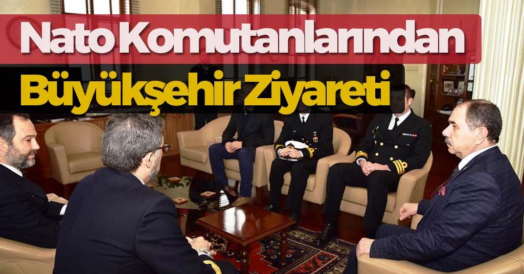 NATO Komutanlarından Büyükşehir'e Ziyaret