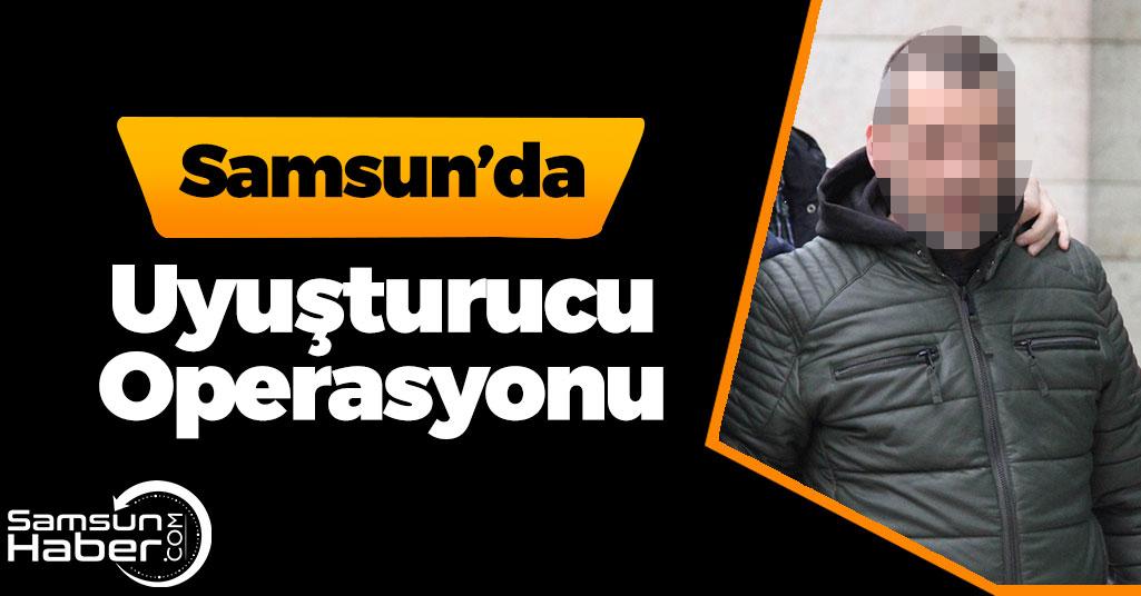 Samsun'da Eve Uyuşturucu Baskını!
