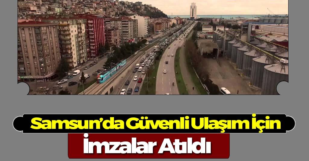 Samsun'da Güvenli Ulaşım Zirvesi