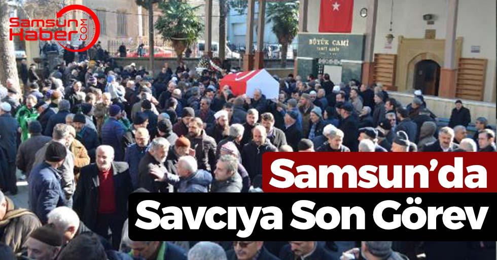 Samsun'da Kalbine Yenik Düşen Savcı Toprağa Verildi