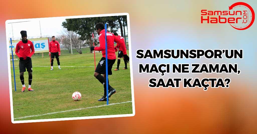 Sivasspor Samsunspor Maçı Ne Zaman, Saat Kaçta?