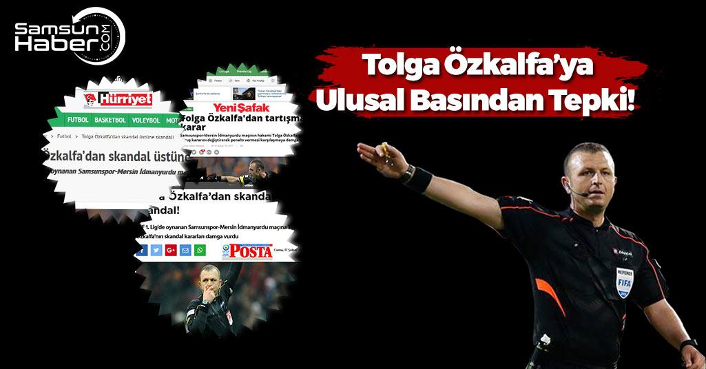 Tolga Özkalfa'ya Ulusal Basından Tepkiler Çığ Gibi Büyüdü
