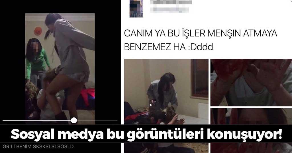 Trabzon'da Kızların Akıl Almaz Kavgası