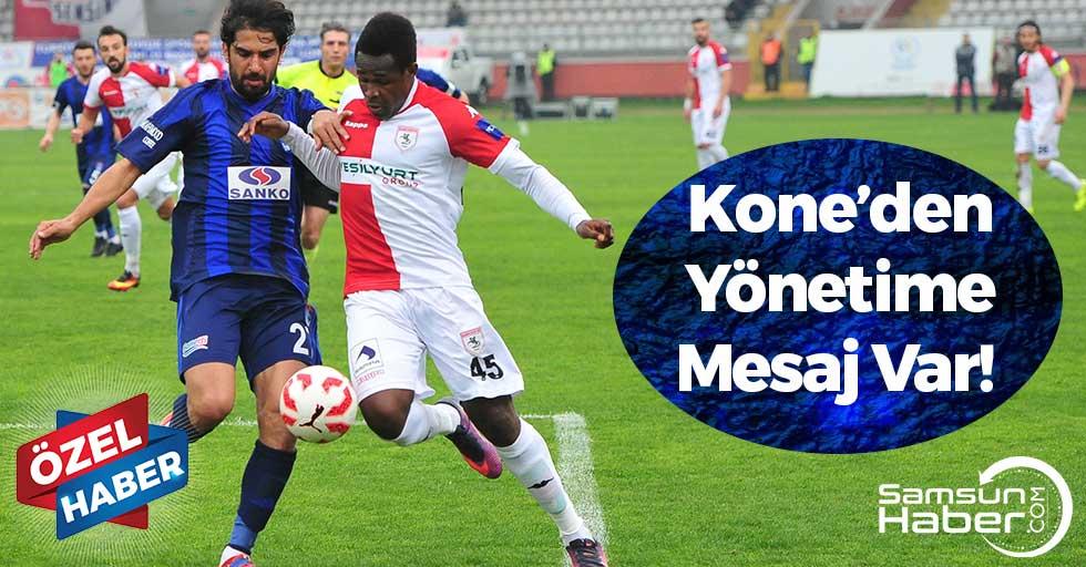 Kone'den Yönetime Mesaj Var!