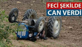 Bafra'da Traktör Devrildi: 1...