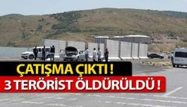 Çatışmada 3 PKK'lı Öldürüldü...