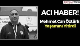 Mehmet Can Öztürk'ten Kötü Haber