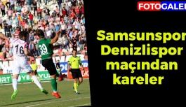 Samsunspor Denizlispor Maçından Kareler