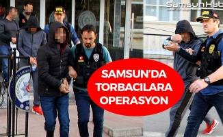 Samsun'da Torbacılar Hakim Karşısında