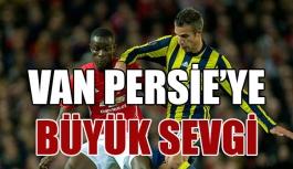 Old Trafford'da Van Persie'ye...