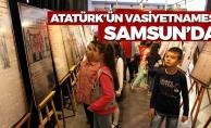 Atatürk Vasiyetnamesi Samsun'da
