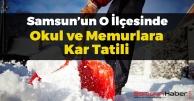 Samsun'da Kar Tatili Genişliyor
