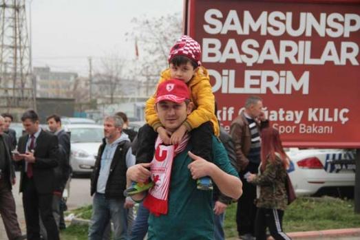 Samsunspor Gaziantep Büyükşehir Belediyespor Maçından Kareler