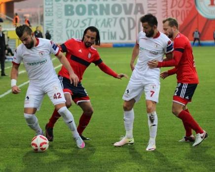 Altınordu-Samsunspor Maçından Kareler