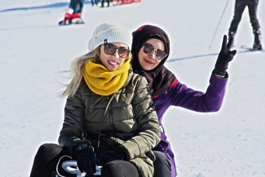 Karadeniz'de kayak manzaraları