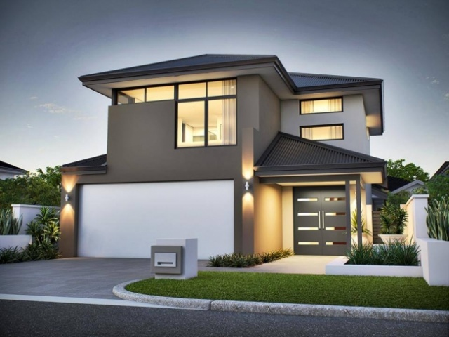 En g steri li ev tasar mlar for 10m frontage home designs