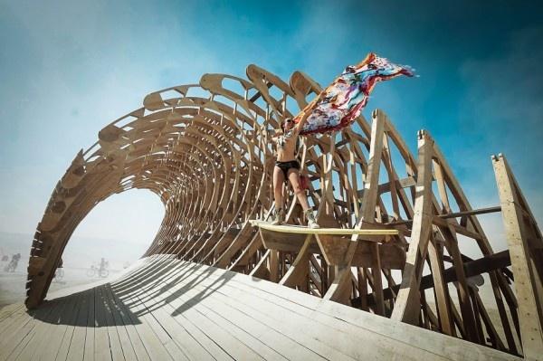 'Burning Man' festivalinden muhteşem kareler...
