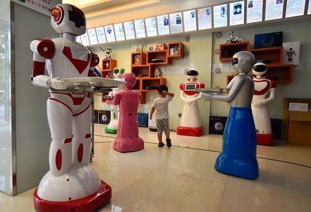Robot Mağazası Açıldı..