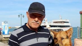 Samsun'da Dalgıç Köpek 'Dost'