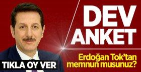 İlkadım Belediye Başkanı Erdoğan Tok'tan memnun musunuz?