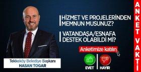 Hasan Togar'ın Hizmet ve Projelerinden Memnun musunuz?