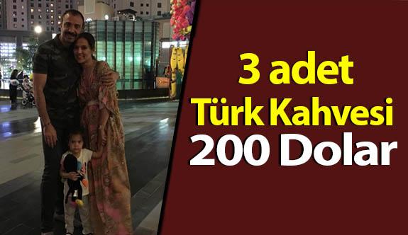 3 Türk Kahvesi 200 Dolar