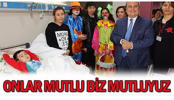 Hastane Yönetiminden Çocukları Sevindiren 23 NİSAN SÜRPRİZİ!