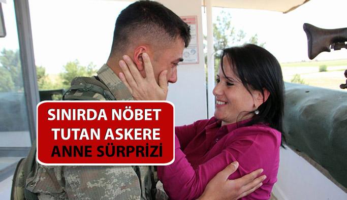 """Askerdeki Oğluna """" ANNELER GÜNÜ """" Sürprizi"""